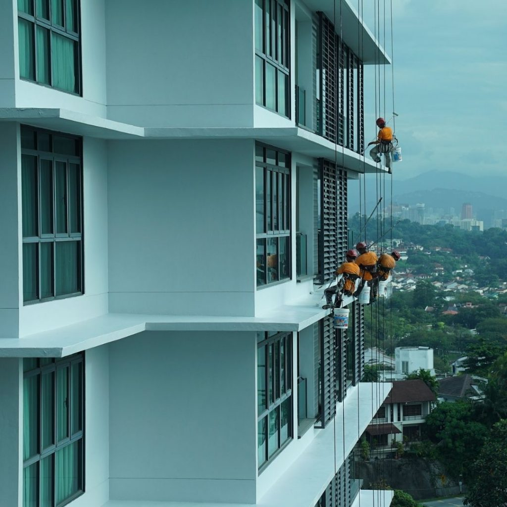 Planejamento e execução de obras em condomínios